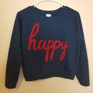 🍒3/$20! Happy Sweatshirt